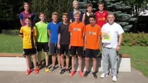 Preisübergabe - Teamgewinn - Oberschule Cossebaude 1