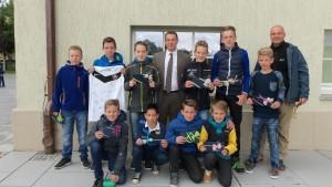 Preisübergabe - Teamgewinn - Hans-Erlwein-Gymnasium