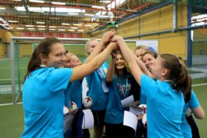 Jubel beim 8. S+P Girls Cup