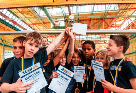 Die Sieger des 14. Schneider + Partner Cups für Grundschulen