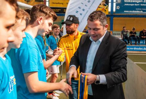 Gymnasium Bürgerwiese und OS Weißig gewinnen Schneider + Partner Supercup